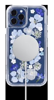 LANIS 霧藍悠悠 客製化手機殼 i12pro 無線充電